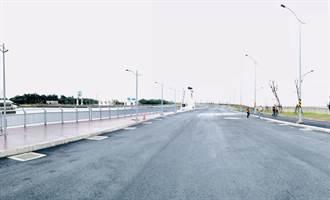竹市南寮大道10月底完工 改善塞車飄砂