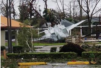 戰機再強也怕颶風 佛州廷德爾基地遭嚴重破壞