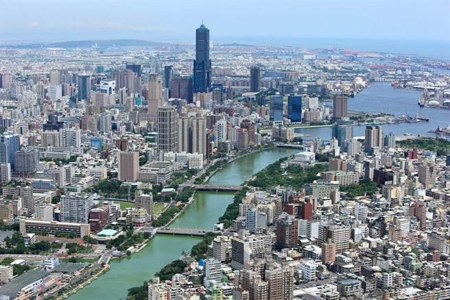 七賢國中活化變身後,將打造國家海洋研究園區,符合海洋首都意象。(柯宗緯翻攝)