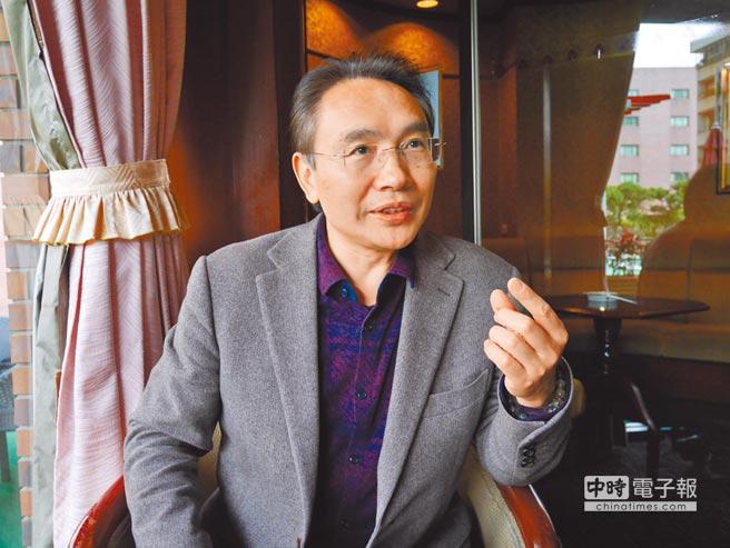 廈門大學台研中心副主任唐永紅。(記者陳君碩攝)