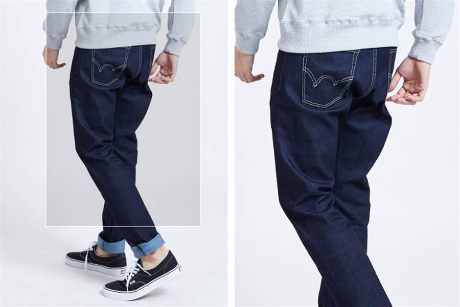 EDWIN牛仔褲,獲網友激推第二名。翻攝DailyView網路溫度計