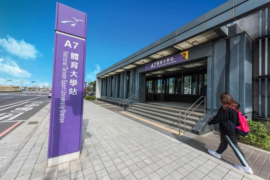 機場捷運A7體育大學站/中時資料庫