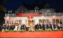 美雙橡園湧入1500人 慶祝中華民國國慶