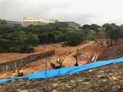 工四工業區東側坑溝滯洪池 加強防災能力