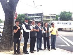 台灣大道四段機慢車道改善路平  中市府緊盯工程品質