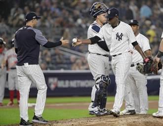 MLB》洋基球評:總教練沒犯錯 輸在先發投手