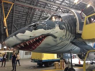 真的有風飛鯊! Embraer鯊魚機來台亮相