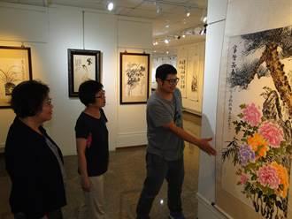 長青書畫會作品聯展  90件作品在地味濃