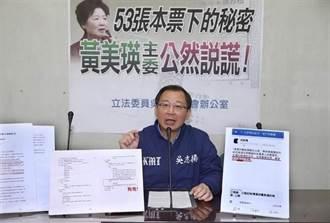 立委控黃美瑛公然說謊 顏廷棟:反對不成才離職