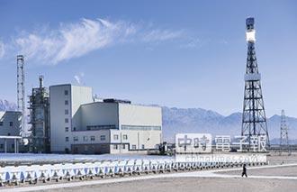 戈壁灘超級工程 陸光熱電站投運