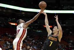 NBA》林書豪終獲重用獨拿20分 老鷹無奈吞敗