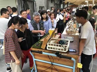 台中舊城新生博覽會!創意品牌攤商打造水岸市集盛事