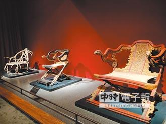 清帝愛紫檀木 製1把椅得花幾十年
