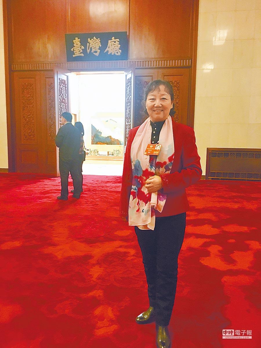 人民大會堂台灣廳。(中新社資料照片)