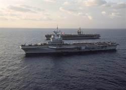 全球唯二核航母國 美法海上拳頭比一比