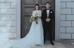 藍鈞天愛妻爆乳拍婚紗照    優雅貴氣美翻惹