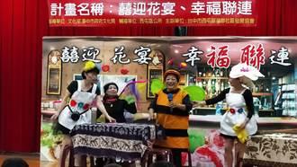 中市西屯福聯社區演出「花菜餐廳」成為區里最夯舞台劇