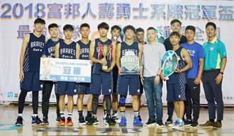 籃球》全台最強系隊!台體休運摘勇士系際盃冠軍