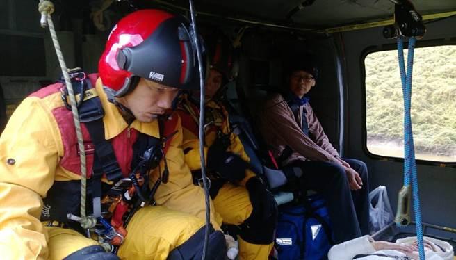 空勤24小時內3起救援。(楊漢聲翻攝)