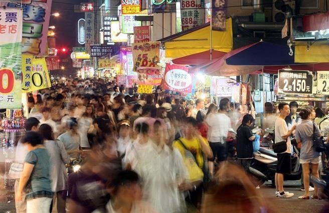 圖為台中市一中街,照片人與本新聞無關。(中時資料照)