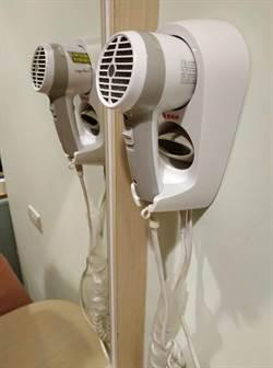 吹很久還會斷電 飯店吹風機讓長髮女孩們爆怒