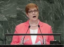 澳洲外長:因應印太挑戰 美澳同盟至關重要