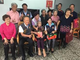 109歲人瑞傳授長壽秘訣 不挑食勤運動