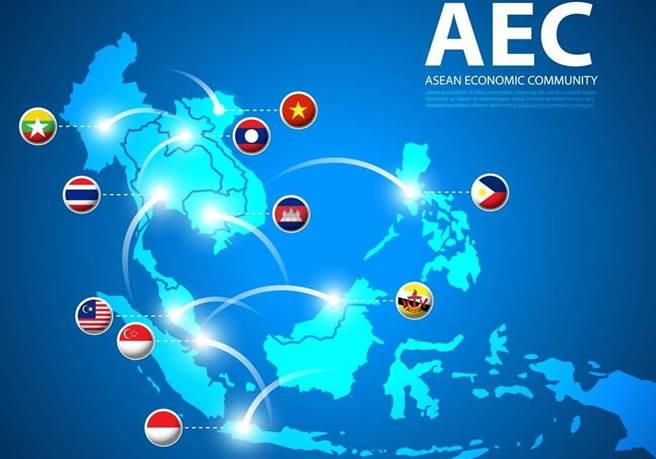 中美貿易戰意外促使東盟(東協10國)崛起,可望讓它在2030年成為世界第4大經濟體。(示意圖/Shutterstock)