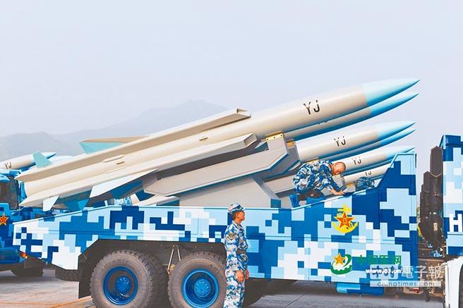 「鷹擊-12」反艦飛彈。(取自中國軍網)