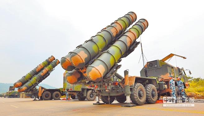 解放軍紅旗-9飛彈。(取自大陸國防部官網)