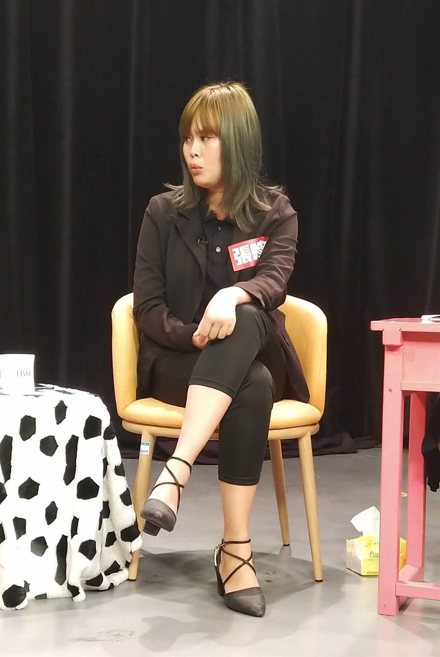 張吟瑩說「責任」就是她的動力來源。