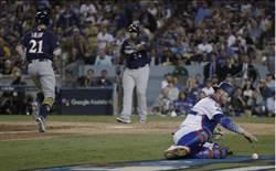 MLB》釀酒人踢館成功 道奇G3遭完封