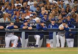 MLB》道奇球員沮喪:球迷怎麼都沒勁了