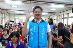 全國唯一投入選舉公務人員陳亮良 白天上班晚上拜訪