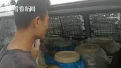 """上海警方查獲35輛""""黑油車"""" 29名嫌疑人被捕"""
