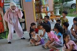 同安國小上演「玩戲話童年」強調跟老師不一樣的好
