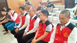 惡名遠播 21名台毒在印尼判死