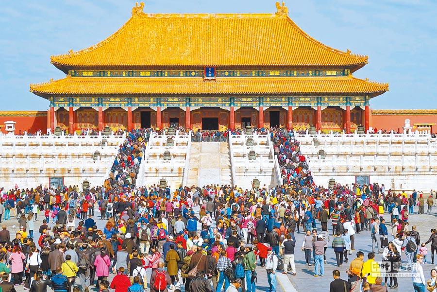 北京是大陸政治、文化中心,在經濟總量上亦僅次於上海。(新華社資料照片)