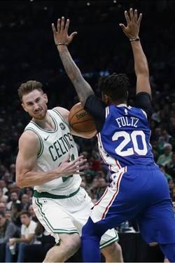 NBA》復出後狀況欠佳 戈登海沃德願退居二線
