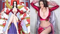 真人版蛇姬!日本超性感美魔女 100%複製「海賊王女帝」讓網友噴鼻血