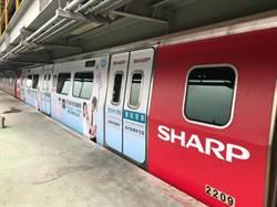 台灣夏普今日宣布 與桃園機場捷運合作推出空氣淨化車廂