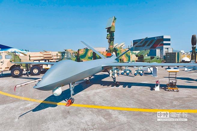 彩虹-5無人機。(新華社資料照片)