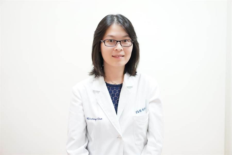 中山醫學大學附設醫院營養科主任林杏純。圖片來源:主任林杏純提供 。