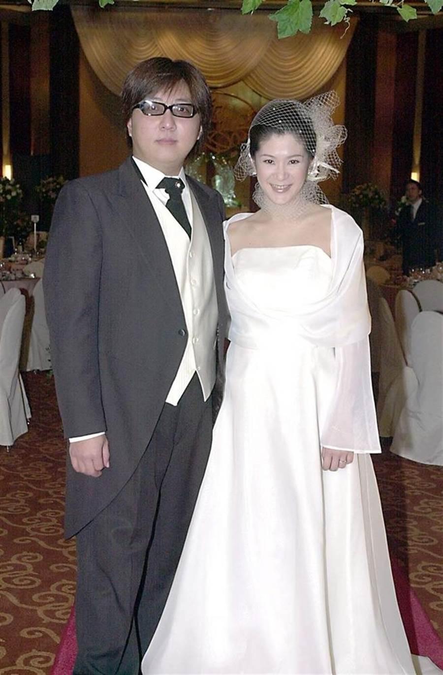 袁惟仁、陸元琪2年前離婚。(圖/中時資料照片)