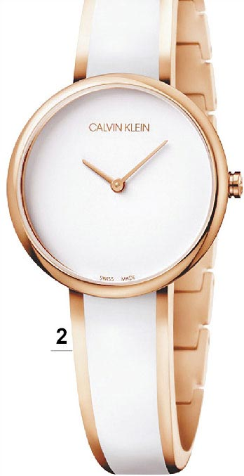 2.CALVIN KLEIN Seduce誘惑系列女表,1萬200元。(CALVIN KLEIN提供)