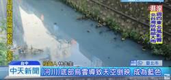 藍色河水是天空藍倒影?環保局假冒民眾套話