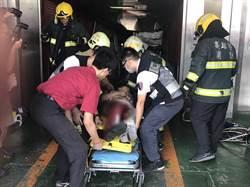 離奇? 保養廠汽車墜3樓 困車內員工送醫不治