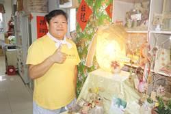 天埔社區推低碳小旅行   民眾動手做絲瓜絡、絲瓜桌燈