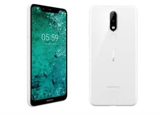 Nokia 5.1 Plus白色優雅推出 線上商城同步上線