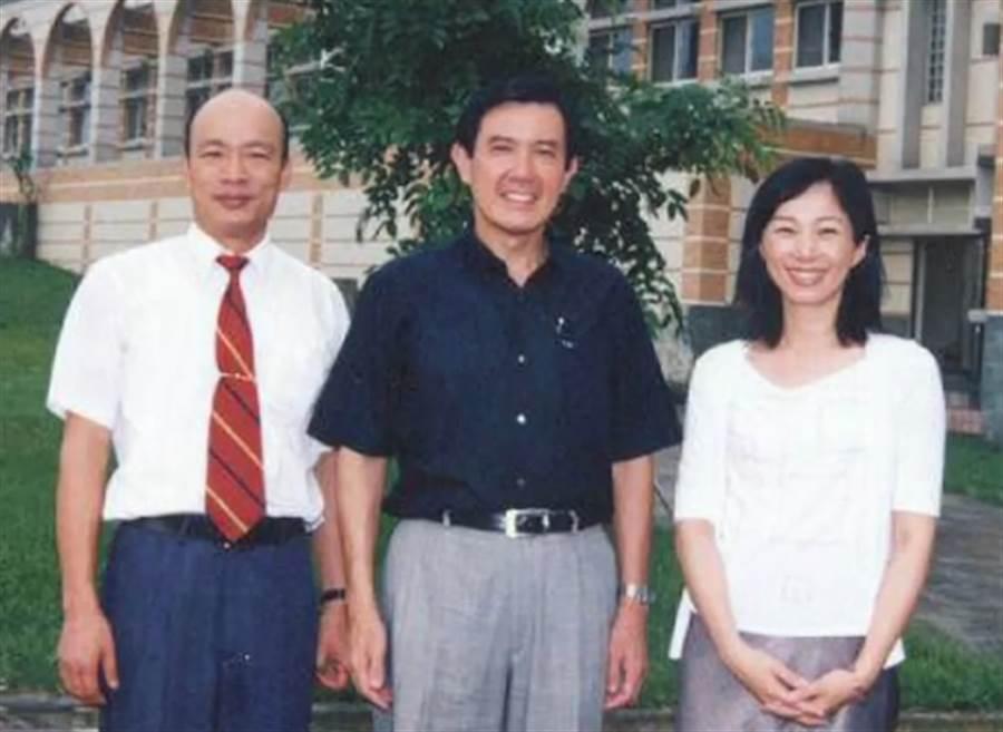 獨》韓國瑜夫妻辦學重國際觀 18年前照片曝光「都沒變」